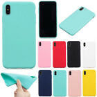 Ultra Slim Back Silicone Rubber Shockproof Protective Skin Bumper Case TPU Cover