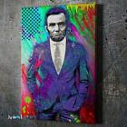 Dapper Abe Lincoln Canvas Wall Art