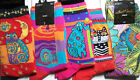 Artistic Laurel Burch Womens Socks Choose from 22 Colorful Styles Cat Moon Dog