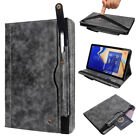 For Samsung Galaxy Tab S4 10.5* 2018 T830 Leather Case Cover with Pencil Holder