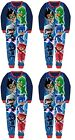 Kids pj masks  Pyjamas All In One sleep suit Cartoon Nightwear Fleece Girls Boys