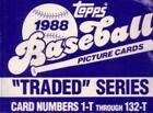 1988 Topps Traded Pick Your Player