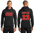 New JORDAN Hoodie Chicago Bulls 23 Michael Air Legend Hooded Sweatshirt Jersey
