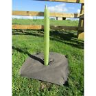 60CM SPIRAL BIODEGRADABLE TREE GUARD RABBIT PROTECTION 38MM GREEN