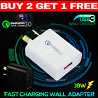 Qualcomm QC 3.0 Certified 5V 2.1A Fast Charging Wall Charger Adapter Universal