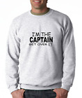 Long Sleeve T-shirt Unique I'm The Captain Get Over It Funny Sport Boss