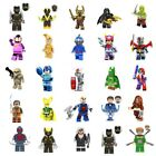 DC Marvel Minifigures Super Heroes Stan Lee Punisher Avengers MiniFigure Blocks