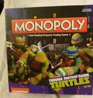 Monopoly Teennage Mutant Ninja Turttles Board GameComplete Clean No Box Damage