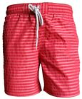 BAILEYS SWIM SHORT BEACH Streifendessin Gr. M bis 3XL in rot