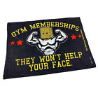 Gym Sweat Microfiber Sports Towel Bodybuilding Funny Gym Memberships They Wont H