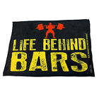 Gym Sweat Microfiber Sports Towel Bodybuilding Funny - Life Behind Bars Swps