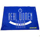 Gym Sweat Microfiber Sports Towel Jogging Funny - Real Women Train