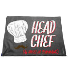 Kitchen Cooking Tea Towels - Head Chef - Cooking Cleaning Christmas