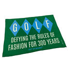 Golf Microfiber Sports Towel Funny Novelty Sweat Rag Golf Defying The Rules Of F