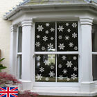 White Christmas Snowflake Window Sticker Winter Wall Sticker Xmas Home Design Sn