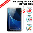 2X Tempered Glass HD Screen Protector For Samsung Galaxy Tab A 10.1 SM-T580 T585