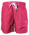 Baileys Freizeit Swim Bade Short Beach in rot dezentes Minidessin Gr. M bis 4XL