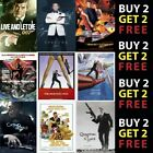 ALL 007 JAMES BOND MOVIE POSTERS A4 A3 300gsm Paper/Card £6.99 GBP on eBay