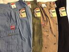 Men Wrangler Cargo Relaxed Fit Shorts - You Pick - Hits At The Knee Walking NWT