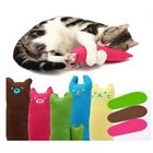 Pet Cat Dog Chew Catnip Cleaning Teeth Molar Kitten Thumb Shape Cotton Play Toys