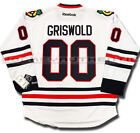 CLARK GRISWOLD CHICAGO BLACKHAWKS JERSEY WHITE CHRISTMAS VACATION $143.23 USD on eBay