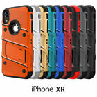 Apple iPhone XR ZIZO Bolt Series Case with Tempered Glass Screen Protector