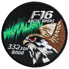 RNoAF Norwegian air force patch F-16 332 sqn Arctic Vipers with h&l