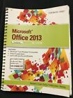 Microsoft Office 2013 First Course Book Excellent Condition/Free FedEx Delivery