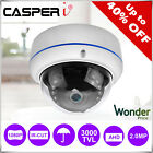 New DOME CCTV Camera 1080P HD TVI AHD CVI ANALOGUE 4IN1 3.6mm Wide Angle 25m IR