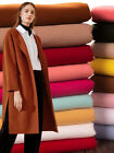 Fall Thick Solid Cashmere Imitation Wool Cloth Diy Coat Woollen Fabric Wide 57""