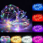 13M 120 LED Fairy String Rope Light Solar Power Waterproof Festival Xmas Decor
