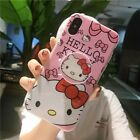 Cute Cartoon Fashion Soft Case W/ Pop Up Stand Holder For iPhone Xs Max 7 8 Plus
