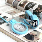 84D3 Portable Magnifying Glass Nail Clippers Pocket Finger Trimmer For Old Peopl