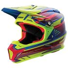 Answer Racing AR-5 MIPS Equipped MX Motocross Dirt Bike Offroad Helmet Acid Blue