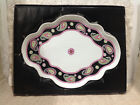 """Retired~Vera Bradly My Home Collection~Pink Elephants Pattern~Vanity Tray~13"""""""