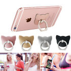 Rose Gold Finger Grip Ring Phone Stand Holder Mount For Mobile iPhone 5 6 7 8 X