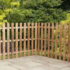 6x3 6x4 PICKET WOODEN FENCE PANELS GARDEN PALISADE FENCING DIP TREATED