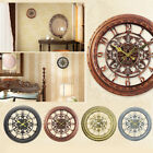 Modern Plastic Wall Clock Living Room Home Office Decor Gift Decoration Silent