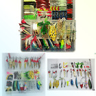 Fishing Lure Set Artificial Bait Lure Plastic Fishing Lures Minnow Popper Pen...