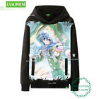 Anime SDATE A LIVE Men's  Loose Unisex Pullover Sweater Sweatshirts Coat  #H45