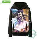 Unisex Pullover Anime DATE A LIVE Men's  Black Sweater Sweatshirts Coat  #H46