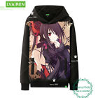 Warmth Unisex Pullover Anime DATE A LIVE Men's  Sweater Sweatshirts Coat #H49