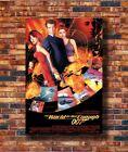 Custom Poster THE WORLD IS NOT ENOUGH Movie James Bond 12x18 27x40 Art Silk $13.2 USD on eBay