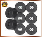 "Guitar Amplifier Cabinet Set Of 8 Rubber Feet 1.5"" s Amps Speaker Top Quality"