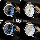Uk Business Watch Mens Leather Army Casual Analog Quartz Boys Wrist Watches