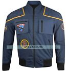 Stock Clearance 50% Off Star Trek Blue Cotton Enterprise Jonathan Archer Jacket on eBay