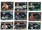 2001 PRESS PASS TRACKSIDE NASCAR  RUNNIN N GUNNIN INSERT SET 9 CARDS *705