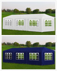 3x4/6/9m Outdoor Party Tent Heavy Duty Gazebo Marquee Wedding Canopy Awning UK