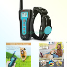 Dog Training Collars with Remote 1000ft Control Range Waterproof & Rechargeab...