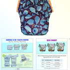 Kids Special Needs Swim Diaper – Reusable Pull Up Cloth Diaper with Insert (S...